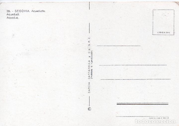 Postales: SEGOVIA - ACUEDUCTO - Foto 2 - 117564995