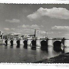 Postales: TARJETA POSTAL DE PALENCIA - RIO CARRION Y PUENTE MAYOR. 34. EDICIONES SICILIA. Lote 117897683