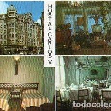 Postales: BURGOS - 3 HOSTAL CARLOS V - VISTAS DIVERSAS. Lote 118103327