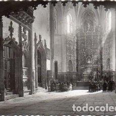 Postales: SEGOVIA - 57 COVENTO DEL PARRAL - INTERIOR DE LA IGLESIA. Lote 118104383
