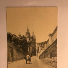 Postales: SALAMANCA. POSTAL FACHADA DE LA CLERECIA (H.1940?). Lote 118584178