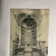 Postales: SALAMANCA. POSTAL NO.43, CATEDRAL VIEJA RETABLO DEL ALTAR MAYOR (H.1940?). Lote 118585107