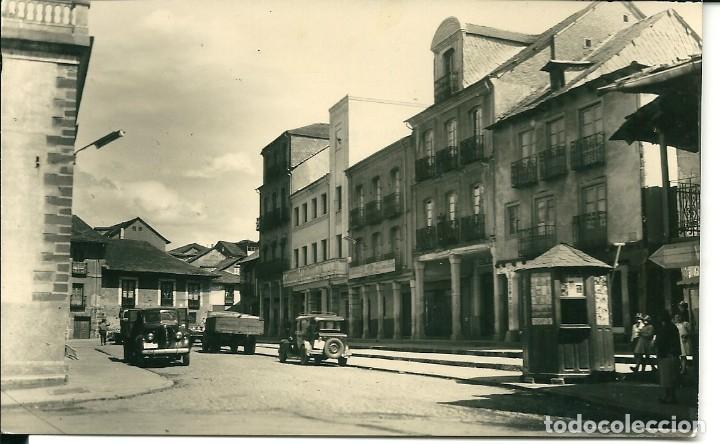 ANTIGUA POSTAL PLAZA MAYOR- BEMBIBRE(LEÓN (Postales - España - Castilla y León Moderna (desde 1940))