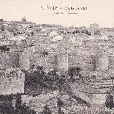 Postales: POSTAL DE ÁVILA - VISTA PARCIAL. Lote 119075715