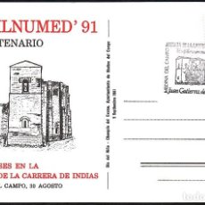 Postales: TARJETA POSTAL EXFILNUMED ´91 (1) CON MATASELLOS CONMEMORATIVO.. Lote 119197463