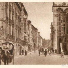 Postales: BURGOS - CALLE SANTANDER H. Y MENET SIN CIRCULAR. Lote 119930255