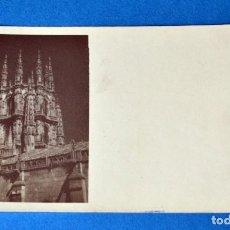 Postales: FOTO POSTAL DE BURGOS. Lote 120353935
