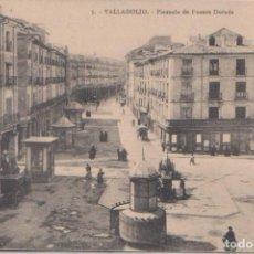 Postales: VALLADOLID - PLAZUELA DE FUENTE DORADA. Lote 120771007