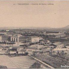 Postales: VALLADOLID - ESTACION DEL NORTE Y TALLERES. Lote 120771175