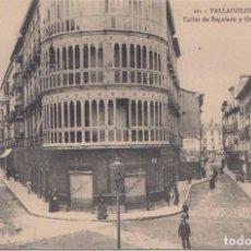 Postales: VALLADOLID - CALLE DE REGALADO Y ORATES. Lote 120771231