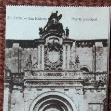 Postales: LEON - SAN ISIDORO. Lote 120824319