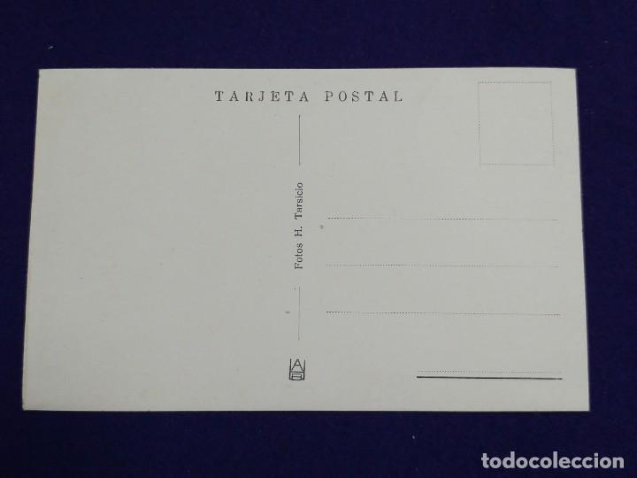 Postales: POSTAL DE BUJEDO (BURGOS). UN COMEDOR. AÑOS 40 - Foto 2 - 121881987