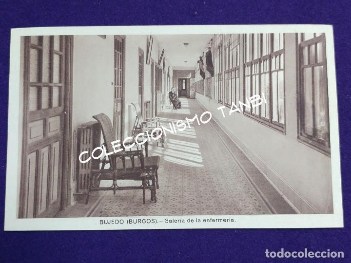 POSTAL DE BUJEDO (BURGOS). GALERIA DE LA ENFERMERIA. AÑOS 40 (Postales - España - Castilla y León Antigua (hasta 1939))