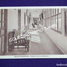 Postales: POSTAL DE BUJEDO (BURGOS). GALERIA DE LA ENFERMERIA. AÑOS 40. Lote 121882055