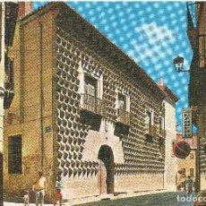 Postales: SEGOVIA CASA DE LOS PICOS . Lote 121985155