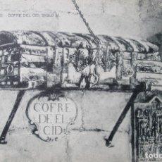 Postales: POSTAL BURGOS COFRE DEL CID SIGLO XI (Nº10) - ED. HAUSER Y MENET - CASTILLA Y LEON - ESPAÑA. Lote 122107315