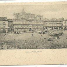 Postales: (PS-56137)POSTAL DE LEON-PLAZA MAYOR.COLECCION GRACIA. Lote 122122039