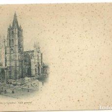 Postales: (PS-56136)POSTAL DE LEON-CATEDRAL.VISTA GENERAL.THOMAS. Lote 122122247
