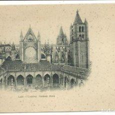 Postales: (PS-56134)POSTAL DE LEON-CATEDRAL.FACHADA NORTE.THOMAS. Lote 122122499