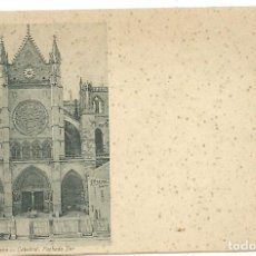 Postales: (PS-56133)POSTAL DE LEON-CATEDRAL.FACHADA SUR.THOMAS. Lote 122122663