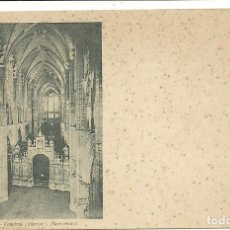 Postales: (PS-56131)POSTAL DE LEON-CATEDRAL(INTERIOR).NAVE CENTRAL. Lote 122122995