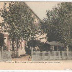 Postales: MIRANDA DE EBRO (BURGOS. VISTA GENERAL DEL BALNEARÈS DE FUENTE CALIENTE.. Lote 122133579