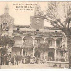 Postales: BURGO DE OSMA (SORIA) CASA CONSISTORIAL.. Lote 122147075