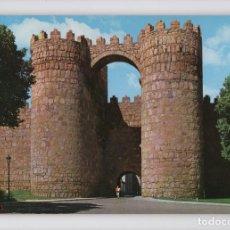 Postales: AVILA · PUERTA DE SAN VICENTE -Gª GARRABELLA, 1964-. Lote 122165035
