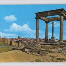 Postales: AVILA · LOS CUATRO POSTES Y VISTA PARCIAL -EDICIONES ARRIBAS, 1972-. Lote 122165135