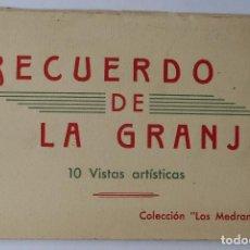 Postales: HAUSER Y MENET - RECUERDO DE LA GRANJA (SEGOVIA) - COLECCION LOS MEDRANOS - 10 POSTALES . Lote 122168887