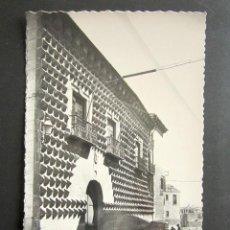 Postales: POSTAL SEGOVIA. CASA DE LOS PICOS. . Lote 123365583