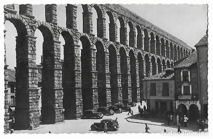 SEGOVIA. VISTA DEL ACUEDUCTO. Nº 32. DOMINGUEZ. (Postales - España - Castilla y León Antigua (hasta 1939))