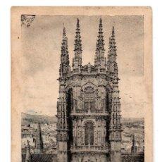 Postales: BURGOS CRUCERO DE LA CATEDRAL,FOTOTIPIA HAUSER Y MENET. Lote 124300827