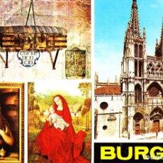 Postales: BURGOS -DIVERSOS. LEER- (A. SUBIRATS CASANOVAS Nº 127) SIN CIRCULAR / P-3523. Lote 124401763