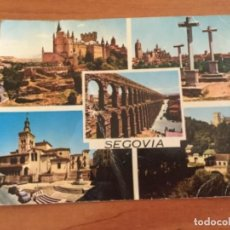 Postales: POSTAL DE SEGOVIA AÑOS 60. CINCO IMAGENES. Lote 124491895