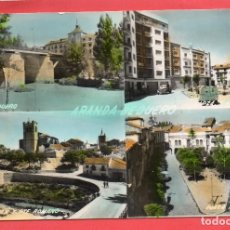 Postales: ARANDA DE DUERO. RIO DUERO. COLOREADA. SICILIA. Lote 124606379