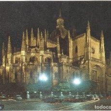 Postales: SEGOVIA CATEDRAL. Lote 124948243