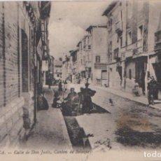 Postales: BRIVIESCA (BURGOS) - CALLE DE DON JUSTO - CANTON DE SALAZAR. Lote 125231895