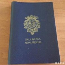Postales: LIBRILLO ACORDEÓN, 20 POSTALES A COLOR AÑOS 60. SALAMANCA. Lote 125430543