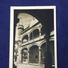 Cartoline: POSTAL ANTIGUA CIUDAD RODRIGO FACHADA AYUNTAMIENTO FOTO PAZOS NO CIRCULADA NI ESCRITA. Lote 127993547
