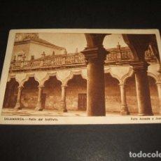 Postales: SALAMANCA PATIO DEL INSTITUTO FOTO ANSEDE Y JUANES. Lote 128067315