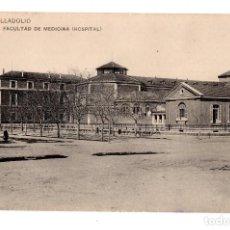 Postales: VALLADOLID.- FACULTAD DE MEDICINA ( HOSPITAL) . FOTOTIPIA HAUSER Y MENET. ED. L.J.. Lote 128393515