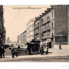 Postales: VALLADOLID.- CALLE DE MIGUEL ISCAR . FOTOTIPIA HAUSER Y MENET. ED. L.J.. Lote 128394239