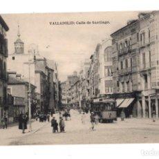 Postales: VALLADOLID.- CALLE DE SANTIAGO. FOTOTIPIA HAUSER Y MENET. ED. L.J.. Lote 128394623