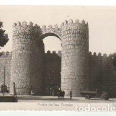 Postales: POSTAL AVILA PUERTA DE SAN VICENTE ESCRITA - -C-52. Lote 128553095