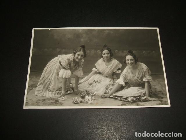 SALAMANCA VIUDA DE GOMBAU FOTOGRAFIA POSTAL FOTOGRAFICA MUJERES CON TRAJE TIPICO (Postales - España - Castilla y León Antigua (hasta 1939))