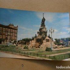 Postales: POSTAL VALLADOLID MONUMENTO A COLON. Lote 128571875