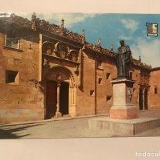 Postales: SALAMANCA POSTAL NO.17 A COLOR FRAY LUIS DE LEON EDITA: EDICIONES PERGAMINO (H.1960?). Lote 128585423