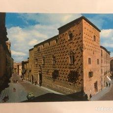 Postales: SALAMANCA POSTAL NO. 4210 CASA DE LAS CONCHAS. EDITA: EDICIONES BEASCOS (H.1960?). Lote 128585567