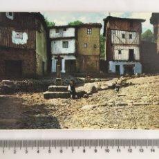 Postales: POSTAL. LA ALBERCA. SALAMANCA. CRUCERO DEL BARRIO NUEVO. FARDI-BARCELONA. H. 1960?. Lote 128604235